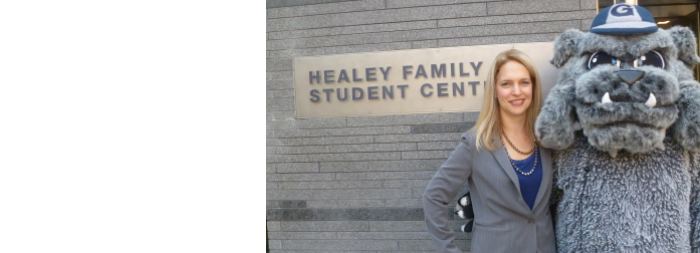Grand Opening of the Healey Family Student Center Has Special Significance for One DLS Student