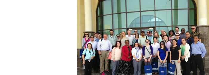 Georgetown EDM Students Return from a 'Life-Changing Experience' in Doha