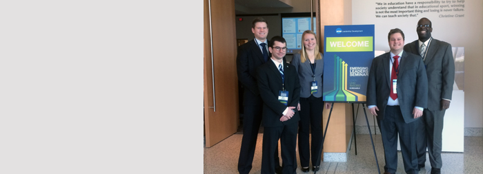 Five Sports Industry Management Students Make Their Mark on the NCAA at Emerging Leaders Seminar