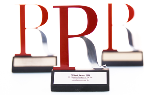 Georgetown Public Relations Program Wins PRWeek 'Program of the Year' for Third Consecutive Year