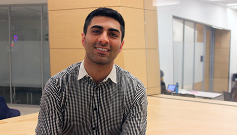 Georgetown Tech Management Grad Amir Khan