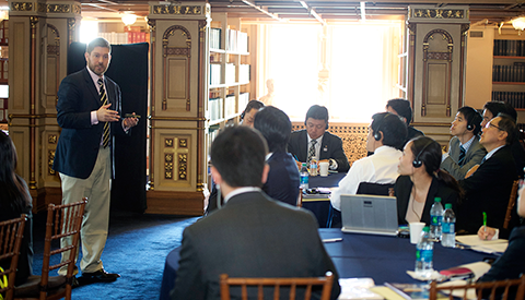Georgetown Celebrates 10th GULP Delegation from Japan