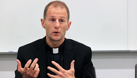 Class Emphasizes Jesuit Values in Professional Life