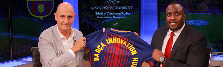Can a Soccer Club Change the World? Georgetown and FC Barcelona Will Give It a Try