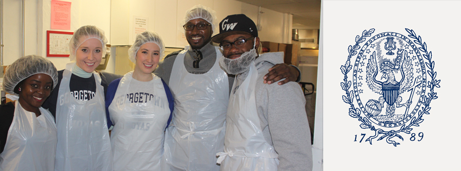 HRM Students Volunteer at DC Central Kitchen—and Pick up Some Culinary Tips