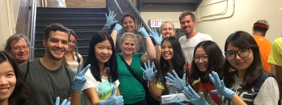 Students, Faculty, Staff Begin Fall Semester with Day of Service