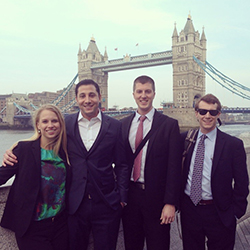 2014 Georgetown Case Team in London