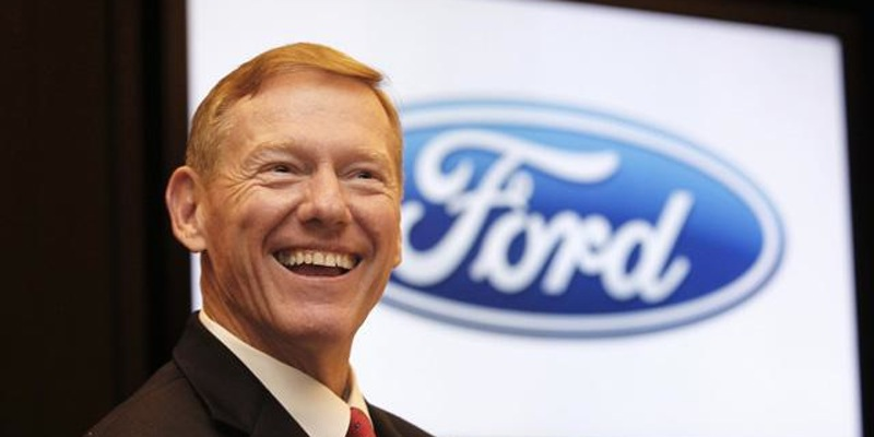 Alan Mulally, the recent former CEO of Ford Motor Company, speaks to the Georgetown Community on the topic of Leadership Communications