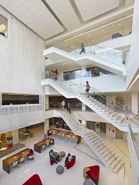Georgetown SCS atrium