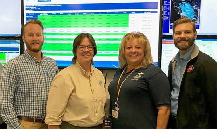 EMAC team deployed to Sampson County after Hurricane Florence