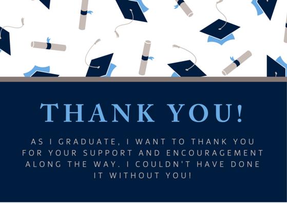 Graduate Thank You Ecard
