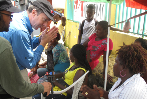 NPR reporting on Ebola in Liberia