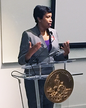 D.C. Mayor, Muriel Bowser