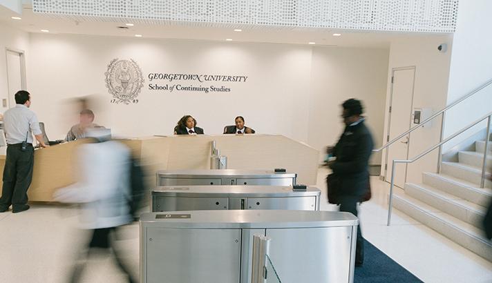 Georgetown School of Continuing Studies building