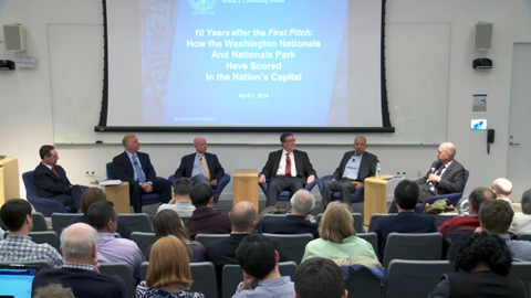 Georgetown SCS panel, Ten Years After the First Pitch