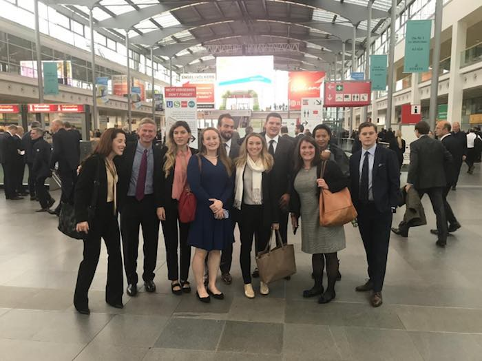 Georgetown Students in Berlin Train Station